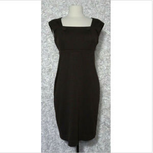 Calvin Klein Sheath Brown Dress